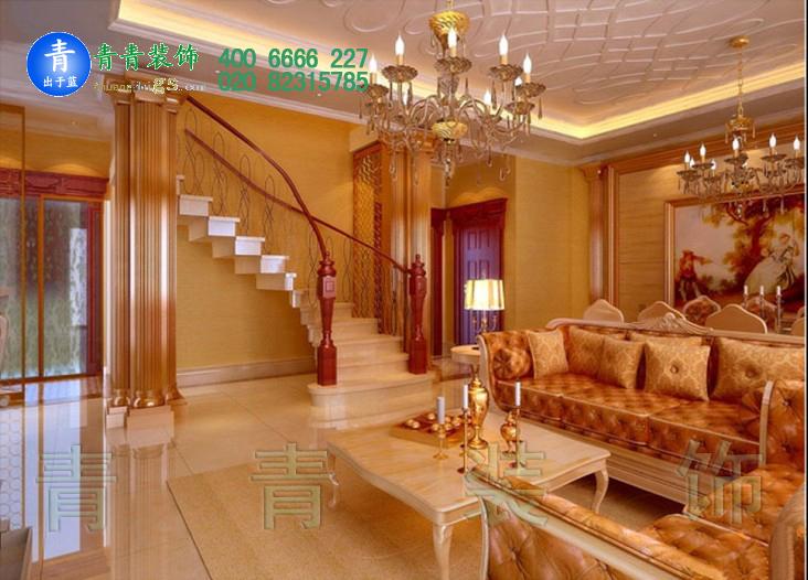 奢华大气别墅样板间装饰设计案例参考