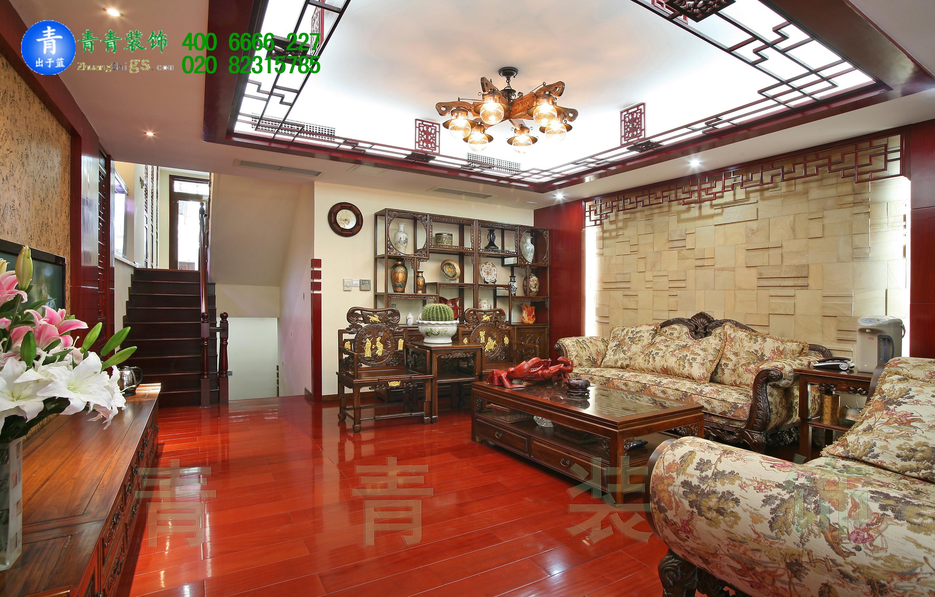 新中式别墅manbetx手机登录设计风格还可以这样来表达