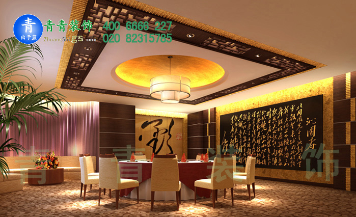 金碧辉煌豪华餐厅设计效果图片推荐