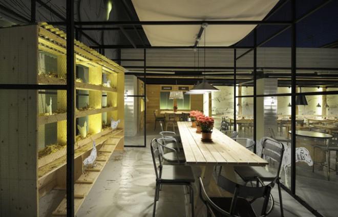 正宗的西餐厅设计风格效果图片