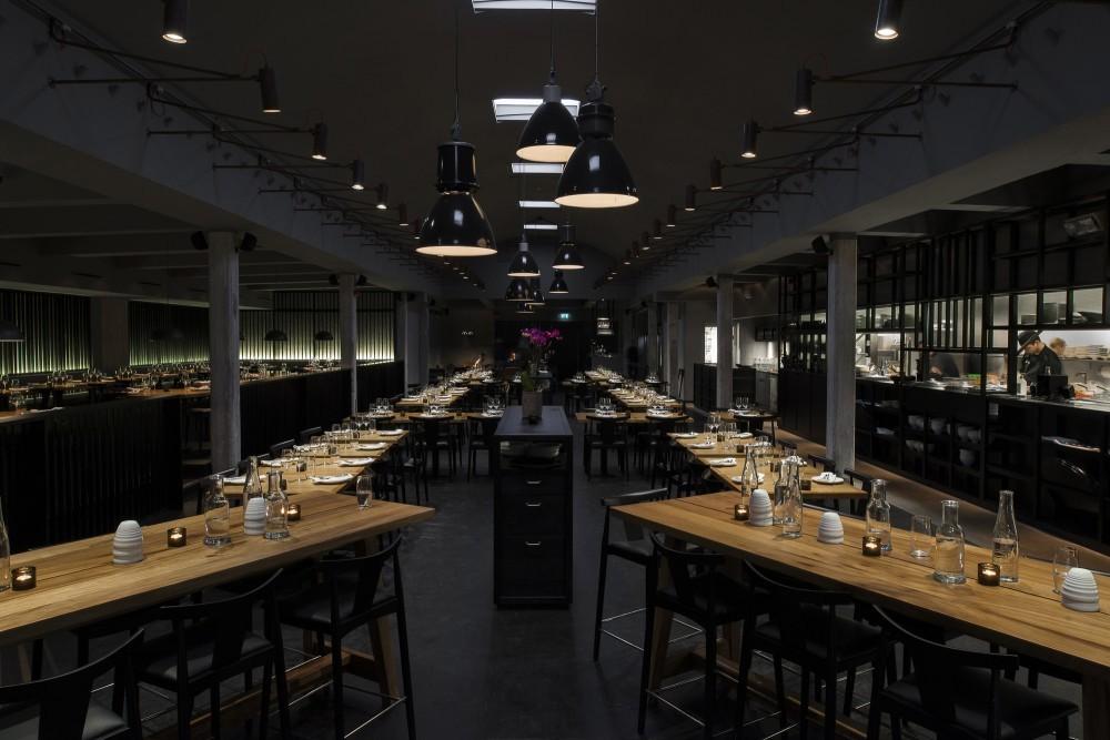 非常简约的西餐厅manbetx手机登录设计风格效果图片案例
