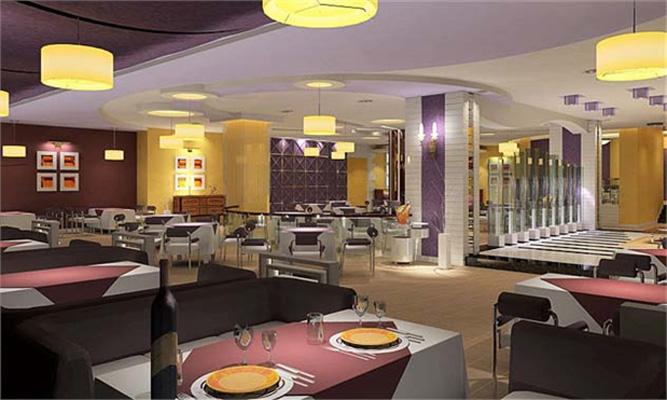 格式各样风格的西餐厅设计效果图片案例