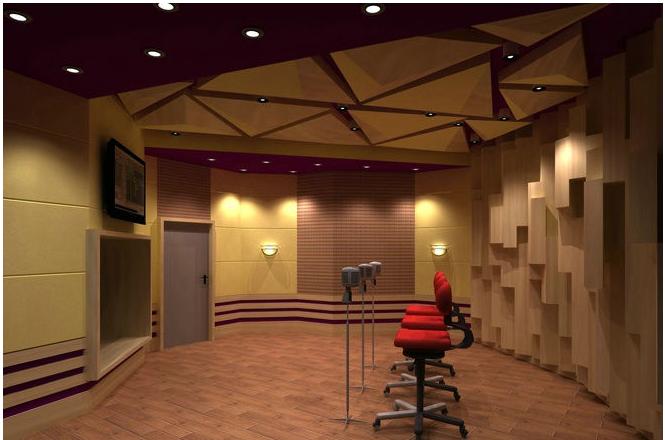录音棚设计中绿色植物植入不可或缺