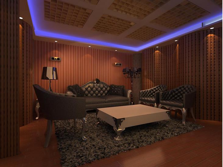 录音棚的空间设计不亚于静音设计