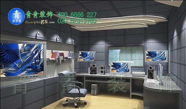 广州录音棚manbetx手机登录设计案例