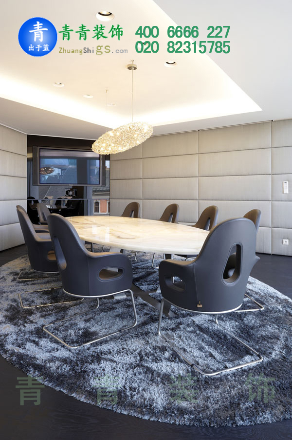 企业事业单位会议室manbetx手机登录设计案例