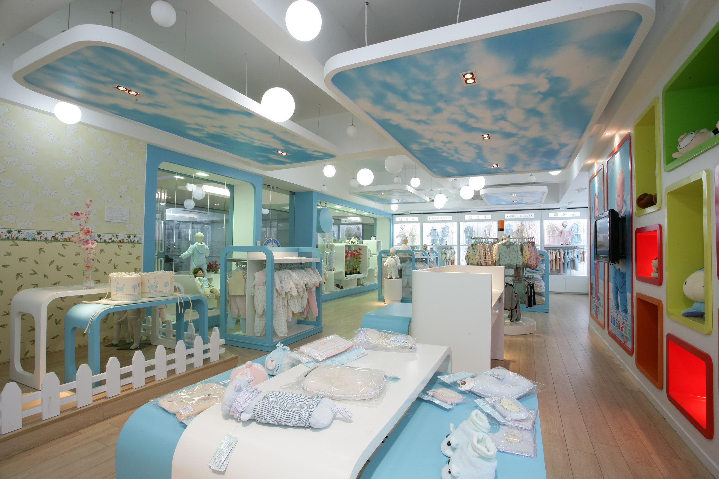 广州儿童服装店manbetx手机登录设计案例