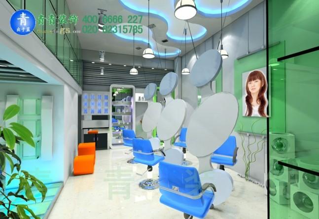黄埔发廊空间设计manbetx手机登录案例