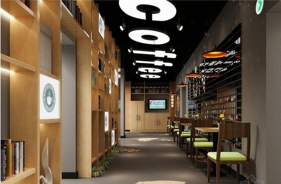 创意咖啡厅manbetx手机登录设计效果图片案例推荐图库