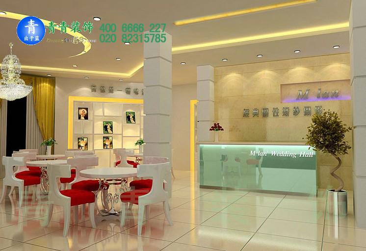 广州婚纱店manbetx手机登录设计效果图片参考案例图