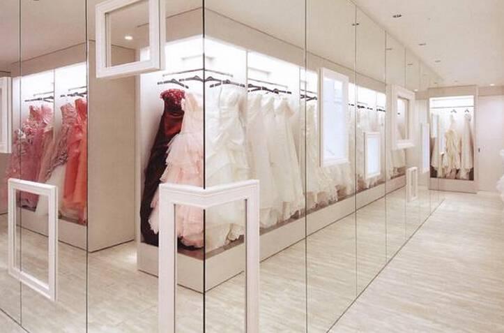 最新婚纱店manbetx手机登录设计效果图片参考案例