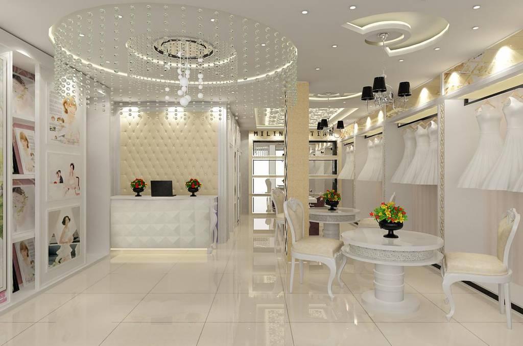 现代风格婚纱店设计效果图片参考案例大全