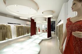 简约风格婚纱店设计效果图片参考案例