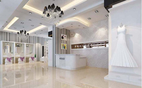 高端豪华婚纱店设计效果图片参考案例