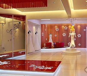 天河贵族婚纱店设计效果图片参考案例