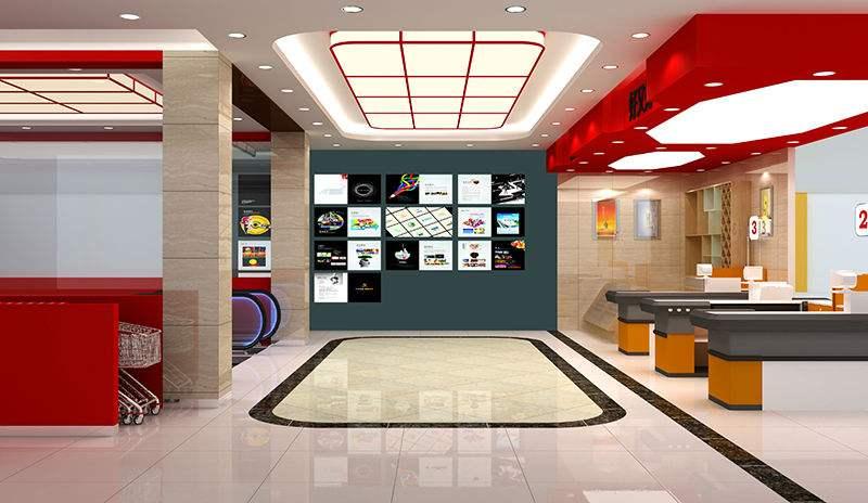 广州超市manbetx手机登录设计效果图片参考案例推荐