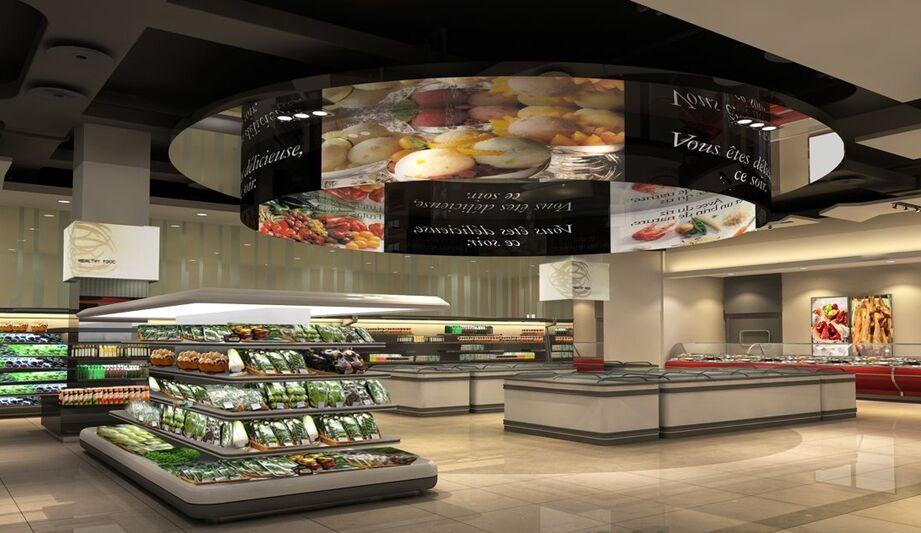 高端豪华超市manbetx手机登录设计效果图片参考案例推荐