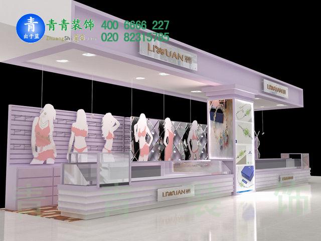 广州内衣专卖店manbetx手机登录设计效果图案例