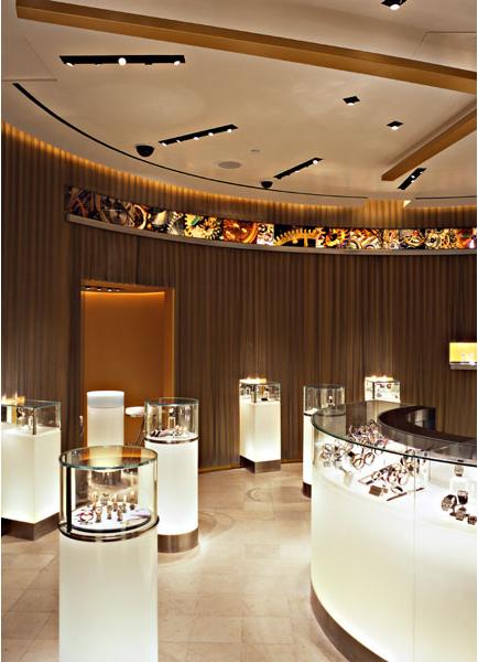 广州手表奢侈品专卖店manbetx手机登录设计效果图案例推荐