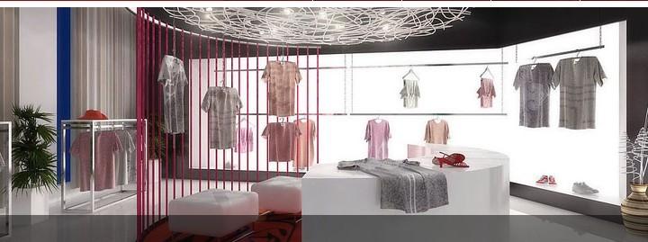 广州服装店manbetx手机登录设计效果图片参考案例