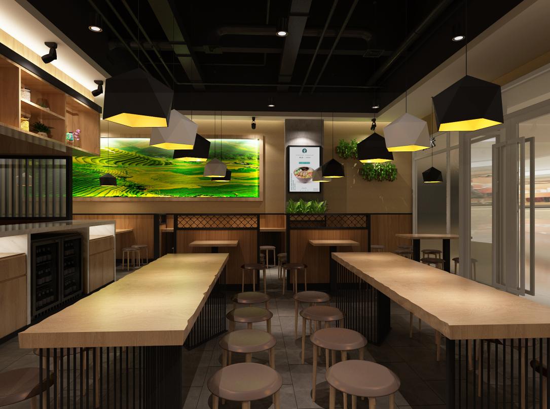 蒙自源餐厅manbetx手机登录设计方案集